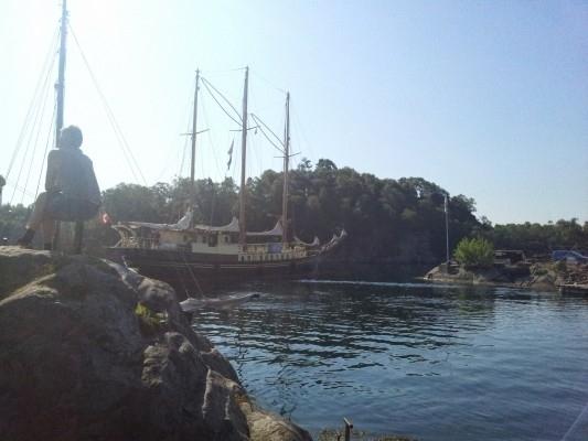 Vi vinker adjø til Skoleskipet Esbjerg