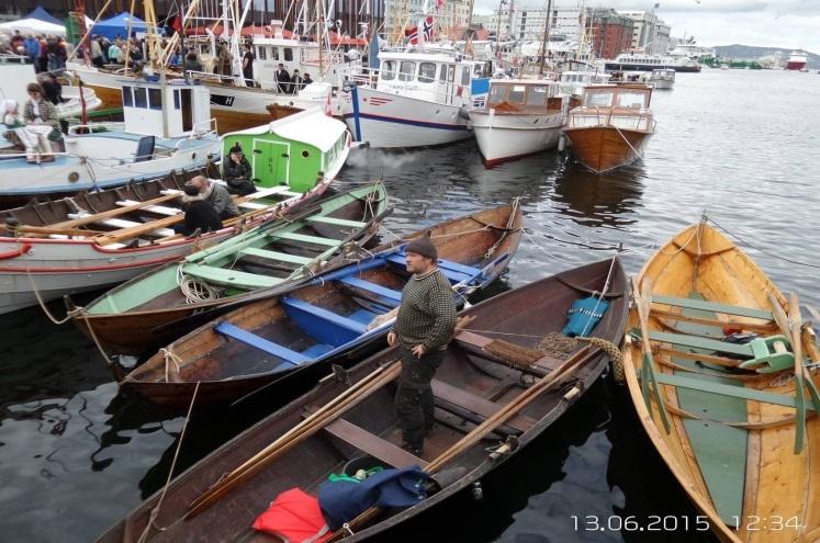 båter på torget